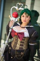 Steampunk Sailor Pluto by monochrome-tea