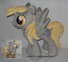 Cute little Derpy Hooves with socks by MLPT-fan