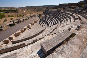 Roman Theatre of Segobriga by Solrac1993