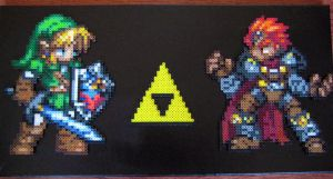 Vs Series: Link and Ganon by Dunhour