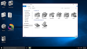 Reverse IconPack for Win10 by hamed1987s