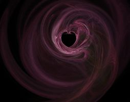 Fractal Heart Stock by zananeichan