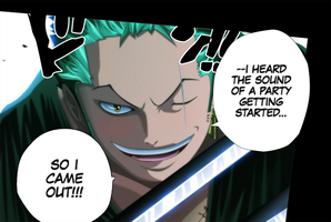 Zoro One Piece 613 by Lord-Nadjib