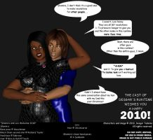 Shamira and Levi Welcome 2010 by Desgar