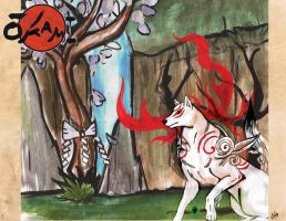 My second entry for OKami by Miss-Melis