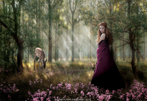Lady of the Forest by AoifeArt
