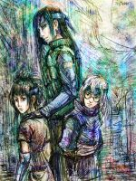 Orochimaru's students by jesterry