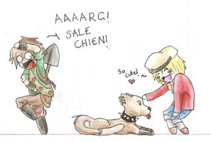 SALE CHIEN by bailey1rox