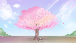 Let's Watch The Cherry Blossoms Together One Day by hauness