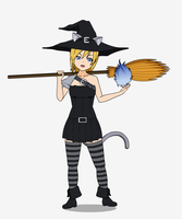 Abigail Blackthorn - Witchy Catgirl by T1p2