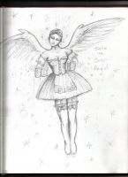 Stella the Beer Angel by Rhissanna