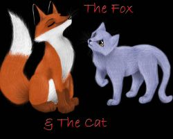 The Fox And The Cat by SilverVanadis