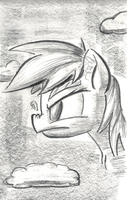 Be Cool, Rainbow Dash by shoeunit