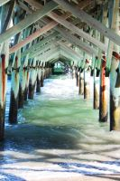 under the pier by chelsea-martin