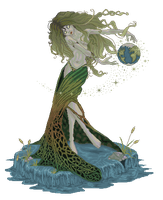 Mother Earth by Cherieosaurus