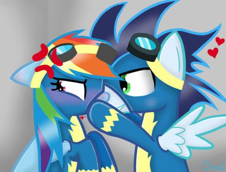 Don't do it, Soarin by Clouly1987