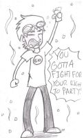 Andy Gets Drunk by Punkheart11