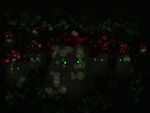 Shrooms in the dark by The-fagget