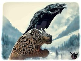 Old Norse by thecasperart