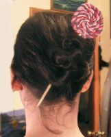 Big Lollipop Hair stick by Izile
