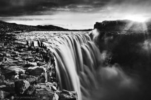 Dettifoss by justinblackphotos