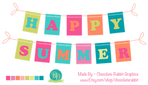 Happy Summer Freebie Download - PNG file by chocolate-rabbit