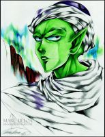 Piccolo Ballpoint Pen Drawing by Giname