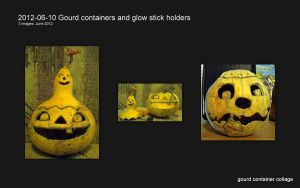 Two creepy gourd container roughs by tarpalsfan