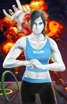 Wii Fit Trainer ain't havin that by notbadword