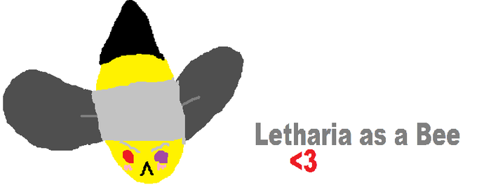 Letharia as a bee by CHrysanthemumz