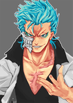 Speedpaint: Grimmjow by TheDreamVirus