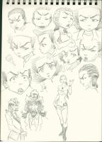 SKETCH Boondocks practice 2 by Scintillant-H