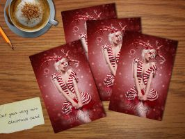 Christmas card by Ophelia-Overdose