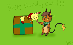Happy Birthday Chibi :D by lemoncave