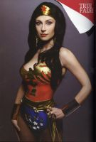 Wonder Woman....on Vogue by Giorgiacosplay