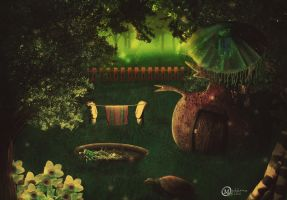 Fantasy Froggy house by Mahhona