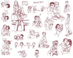 House,M.D._S05_Doodle by DarkMirime