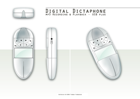 Digital Dictaphone by sirethomas