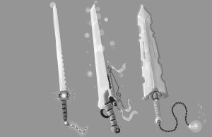 swords by ShinoShoe26