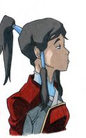 Korra is Not Impressed by artsrock06