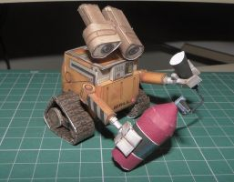 Wall-E Papercraft II by bslirabsl