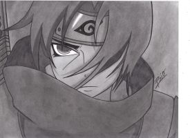 Itachi Drawing by Biohazardisonline