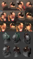 TF2 - TopKnot by larolaro