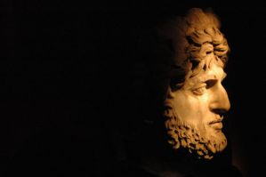 a face from the ancient galler by healmeus