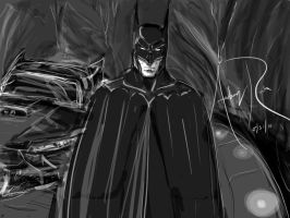 The Batcave by Archonyto