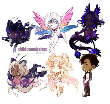 Chibi commissions [1/27] by Dlssectr
