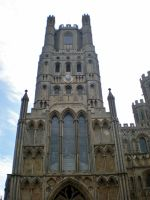 West Tower of Ely Cathedral by Gardek