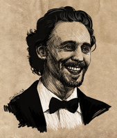 Hiddles Smiles by JazzySatinDoll
