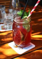 Pomegranate Mint Icetea by serel