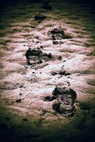 footprints.. by RickHaigh